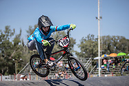 #108 (BOLLE CARRILLO Gabriela) COL at round 8 of the 2018 UCI BMX Supercross World Cup in Santiago del Estero, Argentina.