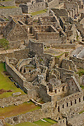 Ruins of the lost city of the inca empire: Machu Picchu. Located in the region of Cusco in Peru. Now is one the new seven wonders of the modern world.