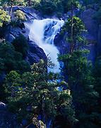 Cascade Creek Falls, Yosemite National Park, California.