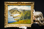 Sir Noël Coward (1899-1973) , The View from Firefly, est £10000-15000. The private collection of Sir Noël Coward, which will be offered as part of the Modern British and Irish Art sale on 19 March 2015 at South Kensington. This collection features a group of paintings by Coward himself, which include portraits and scenes of Jamaica alongside paintings he acquired as gifts from friends such as the actress Elizabeth Taylor, the actor David Niven, and the composer, actor and entertainer Ivor Novello. It comprises works by revered British artists such as Christopher Wood, John Nash, Edward Seago and Derek Hill. Estimates range from £300 up to £100,000.