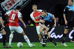 03-04-2010 VOETBAL: AZ - FC UTRECHT: ALKMAAR<br /> FC utrecht verliest met 2-0 van AZ / Michael Silberbauer en Ragnar Klavan<br /> ©2009-WWW.FOTOHOOGENDOORN.NL