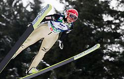 Ayumi Watase of Japan during Normal Hill Individual Competition at FIS World Cup Ski jumping Ladies Ljubno 2012, on February 11, 2012 in Ljubno ob Savinji, Slovenia. (Photo By Vid Ponikvar / Sportida.com)