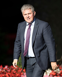 © Licensed to London News Pictures. 22/07/2019. London, UK. Conservative Party Chairman Brandon Lewis arrives for Prime Minister Theresa May's farewell drinks reception at Downing Street.  Voting in the Conservative party leadership election ends today with the results to be announced tomorrow. Photo credit: Peter Macdiarmid/LNP