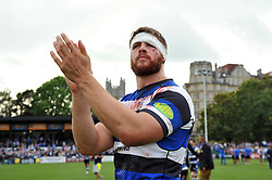 Dave Attwod of Bath Rugby - Photo mandatory by-line: Patrick Khachfe/JMP - Mobile: 07966 386802 20/09/2014 - SPORT - RUGBY UNION - Bath - The Recreation Ground - Bath Rugby v Leicester Tigers - Aviva Premiership