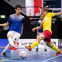 BRISBANE, AUSTRALIA - SEPTEMBER 10:  during the Series Futsal Queensland Round 14 match between South Brisbane FC and QLD Persian Stars on September 10, 2017 in Brisbane, Australia. (Photo by South Brisbane FC / Patrick Kearney)