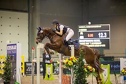Braspenning Merel, BEL, Nijoux van't Achterhof<br /> Nationaal Indoorkampioenschap  <br /> Oud-Heverlee 2020<br /> © Hippo Foto - Dirk Caremans