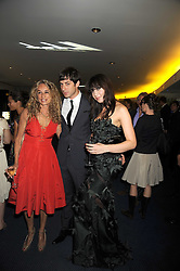 Left to right, ANN DEXTER-JONES, her son MARK RONSON and DAISY LOWE at the GQ Men of the Year Awards held at the Royal Opera House, London on 2nd September 2008.<br /> <br /> NON EXCLUSIVE - WORLD RIGHTS