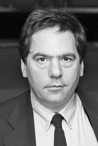 Nederland, Nijmegen, 15-10-1987Schrijver en journalist Ischa Meijer .Foto: Flip Franssen