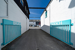 Bruichladdich Distillery on island of Islay in Inner Hebrides of Scotland, UK