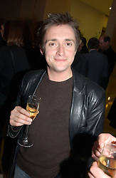 TV presenter RICHARD HAMMOND at a the Orion Publishing Group Author Party and a private view of the 'Turner Whistler Monet' exhibition at Tate Britain, Atterbury Street, London SW1 on 23rd February 2005.<br /><br />NON EXCLUSIVE - WORLD RIGHTS