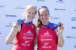 The Allianz Regatta is the first event of the 2021 Hempel World Cup Series. Hosted in Medemblik, The Netherlands, 350 sailors will race across eight Olympic classes across two weeks of competition. 13 June, 2021 © Sander van der Borch / Allianz Regatta