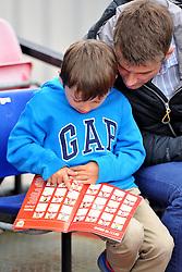 Supporter at Stoke Gifford Stadium - Mandatory by-line: Paul Knight/JMP - 30/09/2017 - FOOTBALL - Stoke Gifford Stadium - Bristol, England - Bristol City Women v Yeovil Town Ladies - FA Women's Super League 1