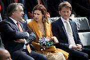 Koningsdag 2017 in Tilburg / Kingsday 2017 in Tilburg<br /> <br /> Op de foto / On the photo:  Prins Pieter-Christiaan en prinses Anita / Prince Pieter-Christiaan en princess Anita