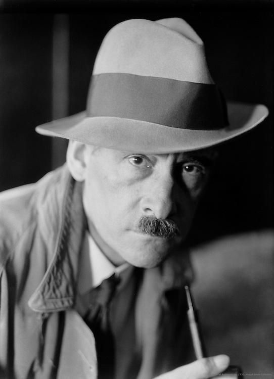 E.O. Hoppé, Self-portrait, c. 1934