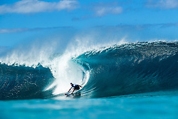 December 16, 2018 - Pupukea, Hawaii, U.S. - Willian Cardoso (BRA) is eliminated from the 2018 Billabong Pipe Masters with an equal 25 finish after placing second in Heat 6 of Round 2. (Credit Image: © Kelly Cestari/WSL via ZUMA Wire)