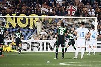 gol Domenico Berardi<br /> Reggio Emilia 19-08-2018 Mapei Stadium <br /> Football Calcio Serie A 2018/2019 Sassuolo - Inter  Foto Matteo Gribaudi / Image Sport / Insidefoto