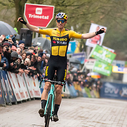 2020-02-08 Cycling: dvv verzekeringen trofee: Lille: Wout van Aert gains the first victory of the season in his own backyard of lille