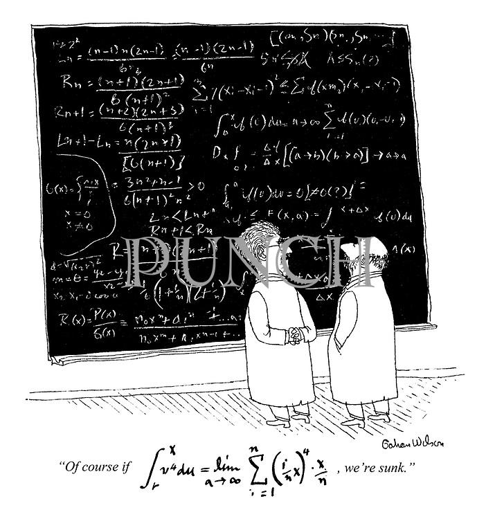 """Of course if fx 4=dim (ix)4 x, we're sunk."""