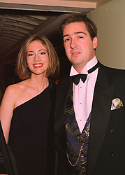 MISS AMANDA PUSTILNIK and COUNT NICHOLAS REUTTNER, at a ball in London on 21st May 1998.MHW 13