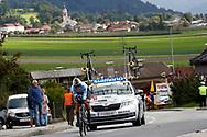 Shari Bossuyt (Belgium) during the 2018 UCI Road World Championships, Women Juniors Individual Time Trial 20 km on September 24, 2018 in Innsbruck, Austria - Photo Luca Bettini / BettiniPhoto / ProSportsImages / DPPI