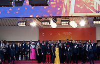 The cast at the Les Misérables gala screening at the 72nd Cannes Film Festival Wednesday 15th May 2019, Cannes, France. Photo credit: Doreen Kennedy