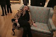 Amelia Troubridge, Hogarth private view and dinner. Tate Britain. London. 5 February 2007.  -DO NOT ARCHIVE-© Copyright Photograph by Dafydd Jones. 248 Clapham Rd. London SW9 0PZ. Tel 0207 820 0771. www.dafjones.com.