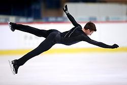 03.12.2015, Dom Sportova, Zagreb, CRO, ISU, Golden Spin of Zagreb, Kurzprogramm Herren, im Bild Gordei Gorshkov, Russia // during the 48th Golden Spin of Zagreb 2015 Male Short Program of ISU at the Dom Sportova in Zagreb, Croatia on 2015/12/03. EXPA Pictures © 2015, PhotoCredit: EXPA/ Pixsell/ Slavko Midzor<br /> <br /> *****ATTENTION - for AUT, SLO, SUI, SWE, ITA, FRA only*****