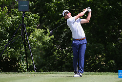 May 23, 2019 - Forth Worth, TX, U.S. - FORTH WORTH, TX - MAY 23: Andrew Landry hits from the 6th tee during the first round of the Charles Schwab Challenge on May 23, 2019 at Colonial Country Club in Fort Worth, TX. (Photo by George Walker/Icon Sportswire) (Credit Image: © George Walker/Icon SMI via ZUMA Press)