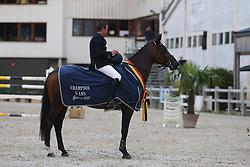 Vinckx Wim, BEL, Hadewijn Van't Ravennest<br /> 6 years old Horses<br /> BK Young Horses Gesves 2021<br /> © Hippo Foto - Julien Counet