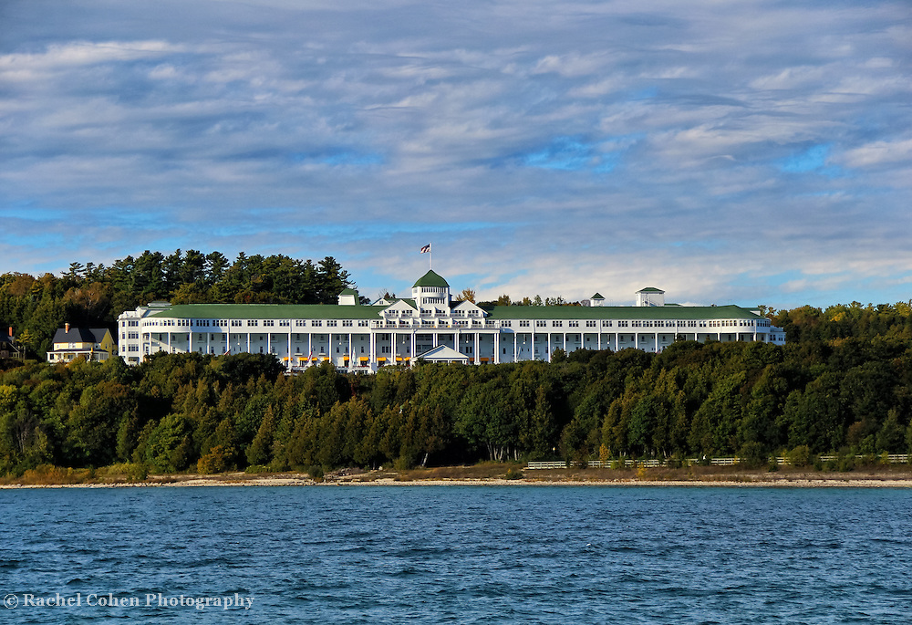 """Grand Hotel""<br /> <br /> The historic and beautiful Grand Hotel on Mackinac Island, Michigan!"