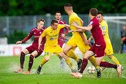 Tilen Pečnik of Domzale during football match between NK Triglav Kranj and NK Domzale in 35th Round of Prva liga Telekom Slovenije 2018/19, on May 22nd, 2019, in Sports park Kranj, Slovenia. Photo by Vid Ponikvar / Sportida