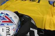 Mitre Match Ball during the EFL Sky Bet League 1 match between Rochdale and Gillingham at Spotland, Rochdale, England on 23 September 2017. Photo by Daniel Youngs.