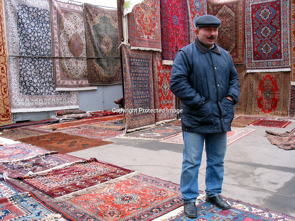 carpet seller in moscow