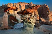 Sandstone hoodoos in the Glen Canyon Nation Recreation Area