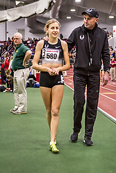 Womens Invitational Mile at BU Terrier Classic Indoor Track Nike Oregon Project Alberto Salazer coaching Mary Cain