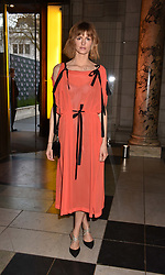 Jacquetta Wheeler at Fashioned From Nature held at The V&A Museum, London, England. 18 April 2018.