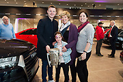 Connolly Motor Group has opened its new state-of-the-art Audi Terminal Showrooms in Ballybrit, Galway. <br /> The finishing touches have been put to the ultra-modern dealership, increasing to 35 full-time jobs, bringing the number of full-time employees at the Connolly Motor Group to over  200 with 35 of those located in Galway.<br /> Work on the new €5 million state-of-the-art dealership began just before Christmas last year and opened on Tuesday October 31st.<br /> The new 'Audi Terminal' is just a stone's throw from Connollys' former Audi Galway dealership at the Briarhill Business Park, close to the Galway Racecourse in Ballybrit. <br /> Finished to the highest spec with the most up-to-date technology, the 23,000 sq. ft. car retail facility is based around Audi's newest design concept. <br /> It is one of the most modern facilities in the country and includes the most up-to-date technology for electric vehicles with multiple power points.<br /> At the Weekend launch was Audi Ambassador Joe Canning with Emily  and Ann Lee  and Alison Mannion Sligo.<br />  Photo:Andrew Downes