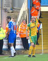 Photo: Ashley Pickering.<br />Colchester United v Norwich City. Coca Cola Championship. 31/03/2007.<br />Luke Chadwick of Norwich (R)