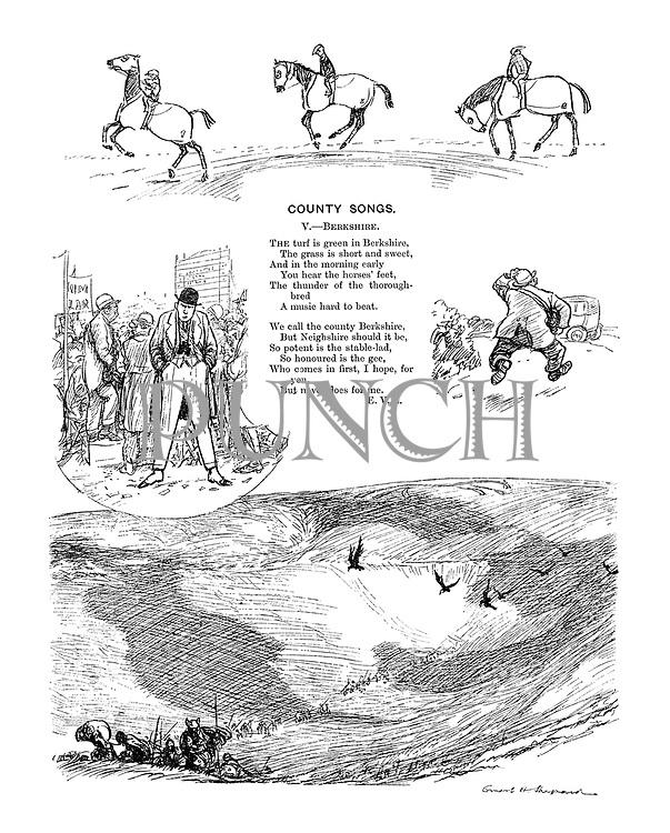 County Songs. V.—Berkshire. (Illustrated poem)