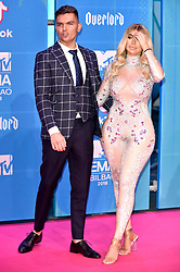 November 4, 2018 - Bilbao, Bizkaia, Spanien - Sam Gowland mit Lebenspartnerin Chloe Ferry bei der Verleihung der MTV European Music Awards 2018 in der Bizkaia Arena. Bilbao, 04.11.2018 (Credit Image: © Future-Image via ZUMA Press)