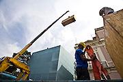 Belo Horizonte_MG, Brasil...Equipamentos para o predio do Planetario na Praca da Liberdade...Equipaments for a planetarium building in Liberdade square...Foto: JOAO MARCOS ROSA / NITRO