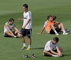 19.08.2010, Trainingszentrum, Madrid, ESP, Primera Division, Real Madrid Training, im Bild Real Madrid's Mesu Ozil, EXPA Pictures © 2010, PhotoCredit: EXPA/ Alterphotos/ Acero / SPORTIDA PHOTO AGENCY