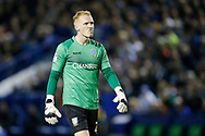 Cameron Dawson of Sheffield Wednesday during the EFL Cup match between Sheffield Wednesday and Everton at Hillsborough, Sheffield, England on 24 September 2019.