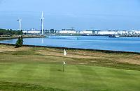 BRIELLE - green hole 11.  Kleiburg , golfbaan.  COPYRIGHT KOEN SUYK