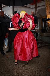 September 13, 2018 - New York, New York, United States - Nicki Minaj attends Marc Jacobs show at New York Fashion Week,  in New York City, US, on 12 September 2018. (Credit Image: © Oleg Chebotarev/NurPhoto/ZUMA Press)