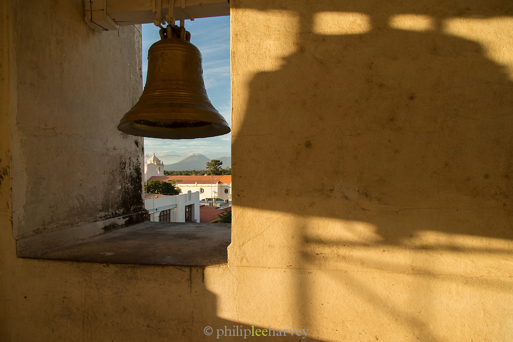 View from top of the bell tower, Leon Cathedral, Leon, Nicaragua