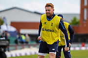 Jonny Bairstow of England before the One Day International match between England and Ireland at the Brightside County Ground, Bristol, United Kingdom on 5 May 2017. Photo by Andrew Lewis.
