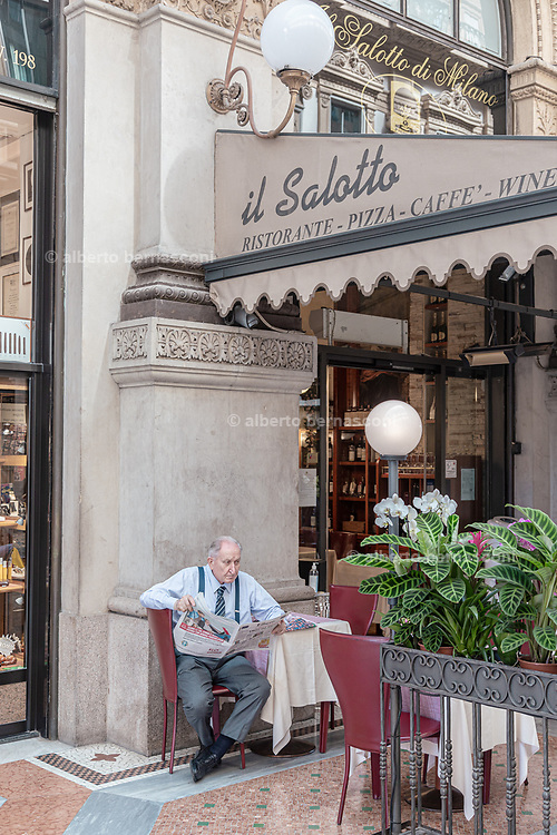Milan, Italy, Galleria Vittorio Emanuele