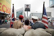 tourist attraction checkpoint Charlie Berlin