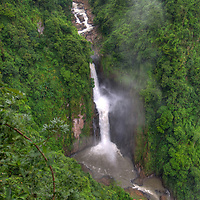 Heaw Narok Waterfall at the world heritage site of Khao Yai National Park in Thailand